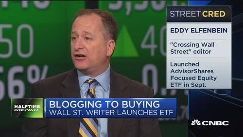 Eddy Elfenbein of Crossing Wall Street and the AdvisorShares Focused Equity ETF