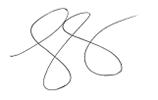 J.C. Parets's signature